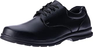 Grosby Educate Senior Men's School Shoes, Black