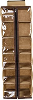 SHREY CREATION Hanging 6 SELF Wardrobe Organizer -Beige