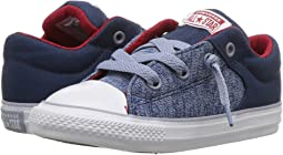 Converse Kids - Chuck Taylor® All Star® High Street Heather Textile Fundamentals Slip (Infant/Toddler)