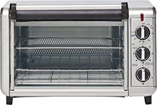 Russell Hobbs RHTOV25 Air Fry Crisp 'N Bake Toaster Oven, Silver