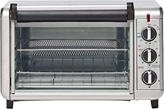 Russell Hobbs RHTOV25, Air Fry Crisp 'N Bake Toaster Oven, Air Fry Technology, 5 Settings, 1500W Convection, Silver