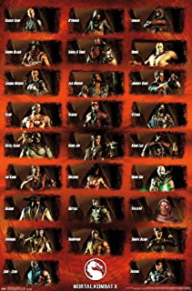 Trends International Mortal Kombat X - Group Wall Poster, 14.725