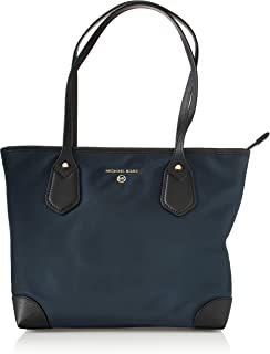 Michael Michael Kors 30H9GV0T0C Eva Small Top Zip Tote Navy Multi One Size