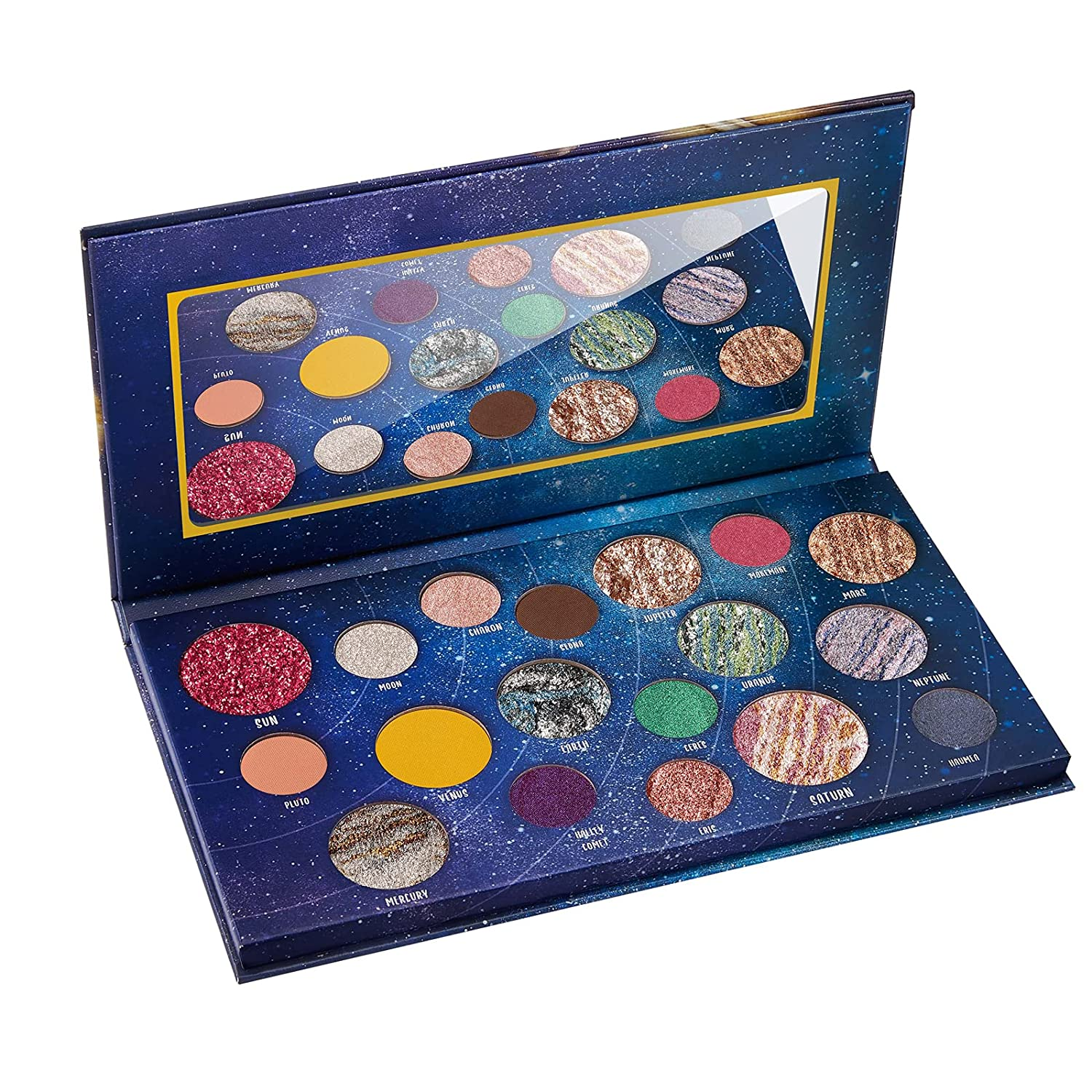Fresno Mall DiTO 18 Color Galaxy Outstanding Eyeshadow Highly Palette Pigmented Makeup
