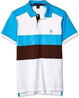 U.S. Polo Assn. Men's Short Sleeve Slim Fit Solid Jersey...