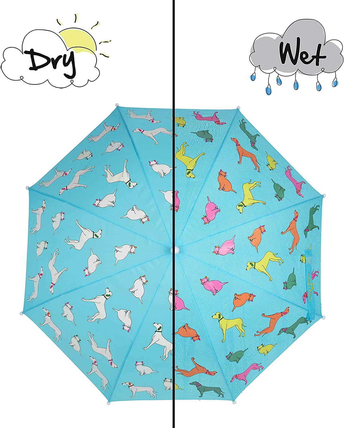 Holly and Beau Colour Changing Umbrella