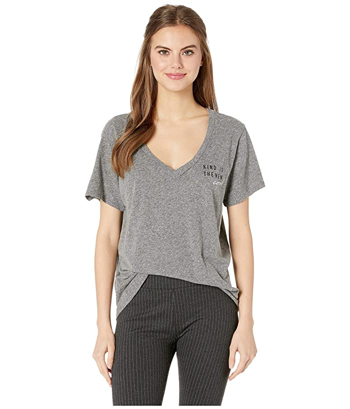 good hYOUman Aiden Kind Is The New Cool Tee (Heather) Women