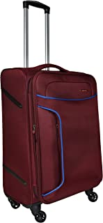 Murano Polyester 24 inches Maroon Hardsided Cabin Luggage (1070049_K)