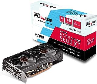 Sapphire Radeon Pulse RX 5600 XT BE 6GB GDDR6 Dual HDMI / Doble DP OC con Placa Posterior (UEFI) PCIe 4.0 Tarjeta gráfica