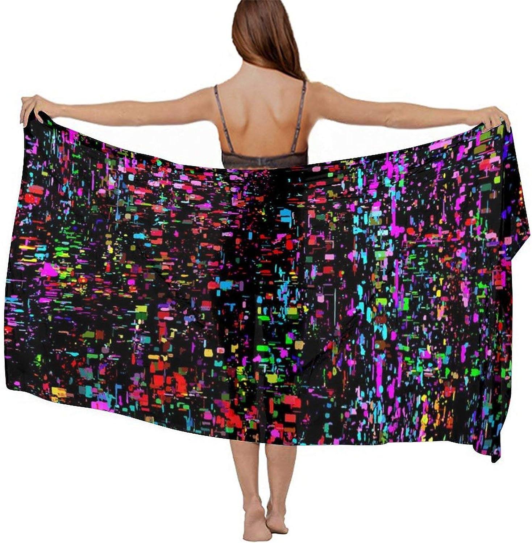 Women's Fashion Chiffon Cardigan Long Swimwear Cover Ups
