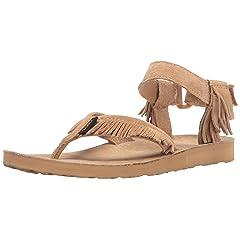 52a42b315 Brown fringe sandals - Sandals - Casual Women s Shoes