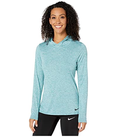 Nike Dry Legend Training Top (Mineral Teal/Teal Tint/Black) Women