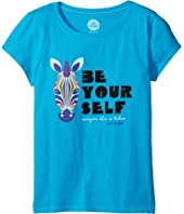 Life is Good Kids - Be You Zebra Crusher™ Tee (Little Kids/Big Kids)