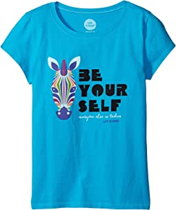 Be You Zebra Crusher™ Tee (Little Kids/Big Kids)