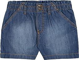 Pull-On Paperbag Waist Shorts (Big Kids)