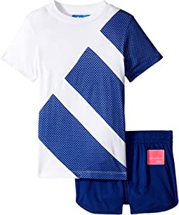 adidas Originals Kids EQT Tee & Short Set (Infant/Toddler)