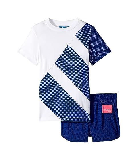 Adidas Originals Kids EQT Tee Short Set Infant Toddler At