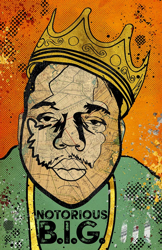 Biggie - Pop gift Art Poster Wall Direct stock discount Hip Ho of Edition Limited 100
