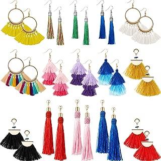 Best long thread earrings online Reviews