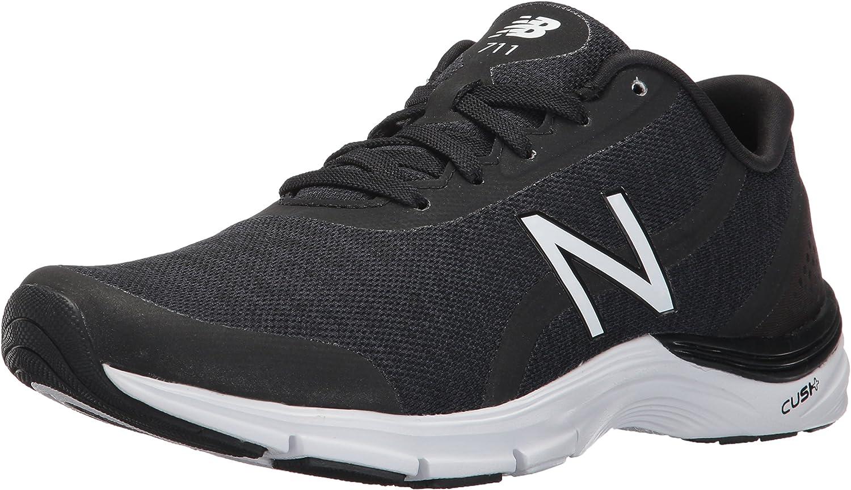 New Balance kvinnor CUSH WX711V3 Training Training Training skor, 8.5 Storbritannien \923;D, svart  vit  detaljhandel