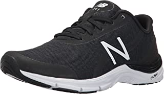 New Balance Women's 711V3 Heather Cross Trainer, Black/White, 8.5 B US