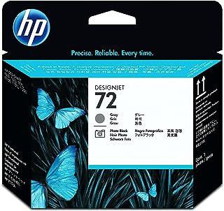 HP (Hewlett Packard) Original C9380A HP 72 Gray and Photo Black DesignJet Printhead, Gray/Photo Black