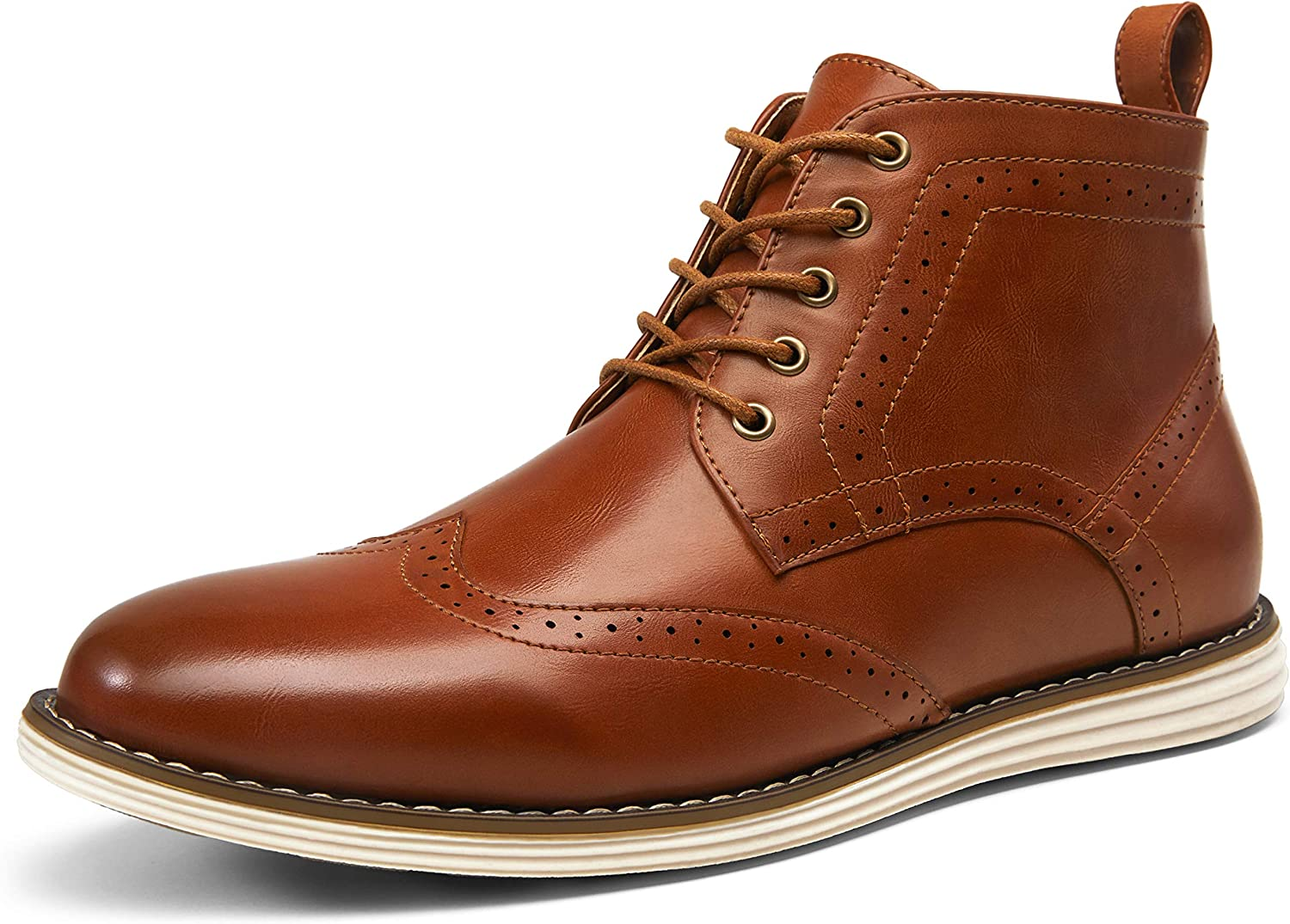Vostey Men's Chukka Boots Motorcycle Casual Hiking Boot for Men