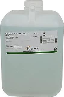 Reagents C7101000-20E3 Hydrochloric Acid, 0.10N Standardized, Grade, 20 L