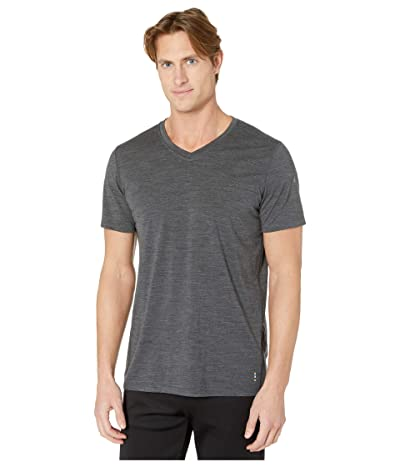 Smartwool Merino 150 Short Sleeve V-Neck (Iron Heather) Men
