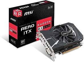 MSI Gaming Radeon RX 560 128-bit 2GB GDRR5 DirectX 12 VR Ready CFX Graphcis Card (RX 560 AERO ITX 2G OC)