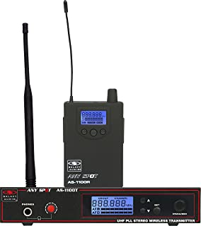 $399 Get Galaxy Audio AS-1100 Wireless In-Ear Personal Monitor System, Code N (518 MHz - 542 MHz)