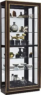 Pulaski Finley Sliding Door Curio Display Cabinet, 34.13