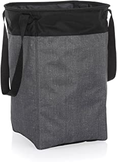 Thirty One Stand Tall Bin in Charcoal Crosshatch - No Monogram - 4947