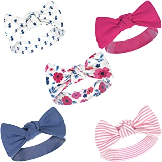 Touched by Nature Baby Girls Organic Cotton Headbands,