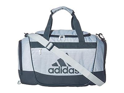 adidas Defender III Small Duffel (Sky Tint Blue Two-Tone/Legacy Blue) Duffel Bags