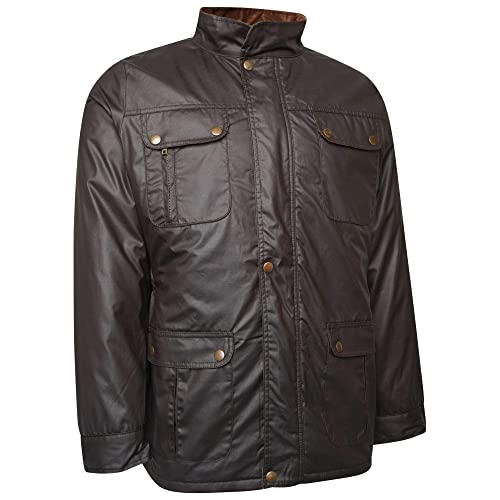ca59406879d Bowie DeMina Mens Outdoor Casual Wax Jacket
