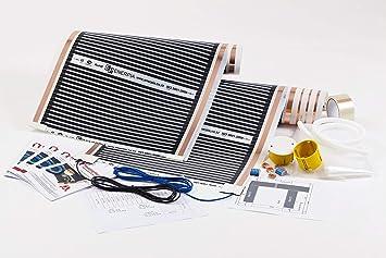 Infrarot Flächenheizung Deckenheizung Heizfolie elektrisch 160W//m² Heating Film