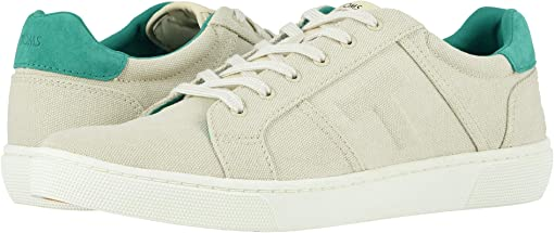 Birch/Sea Green Canvas/Pig Nubuck