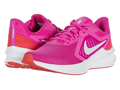 Nike Downshifter 10 (Fire Pink/Summit White/Ember Glow/White) Women