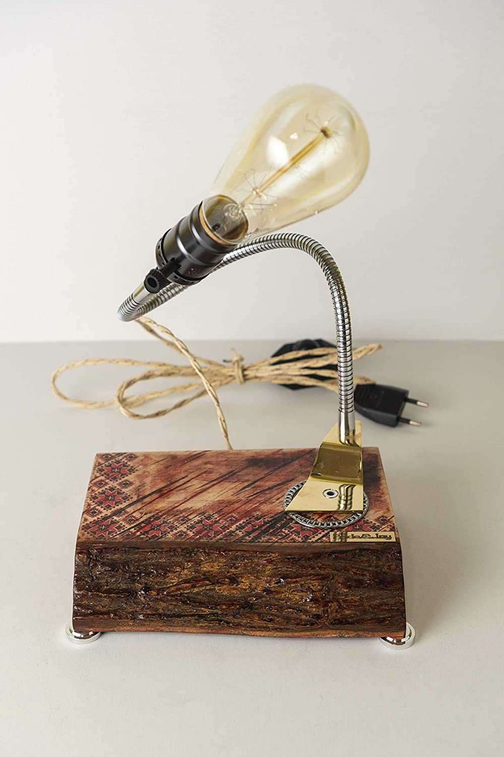 Decorative table lamp Factory outlet PrideJoy Ethno ornament pattern deco quality assurance home