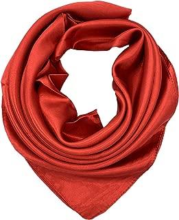 Best red silk head scarf Reviews