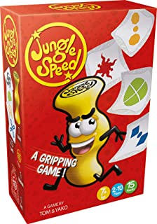 Asmodee ASMJSNEW04EN Jungle Speed (2018 Version), Mixed Colours