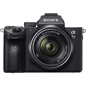 Sony Alpha ILCE7M3 + SEL2870 - Cámara de 24.2 MP, color negro ...