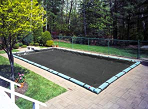 Robelle 381632R Mesh Winter Pool Cover for In-Ground Swimming Pools, 16 x 32-ft. In-Ground Pool