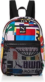 حقيبة ظهر برايم ستريت بلون اسود وطبعات شعار بوما في جميع انحاء الحقيبة