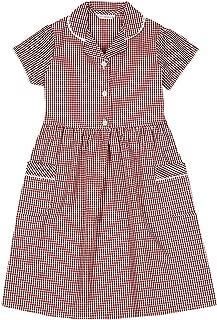 red gingham dress school uniform