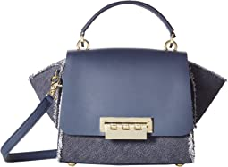 Eartha Iconic Top-Handle Crossbody - Denim