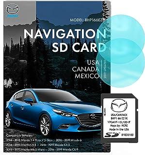 Mazda SD Navigation Card BHP166EZ1K | Latest Update 2019 | Mazda 3 6 CX-3 CX-5 CX-9 GPS