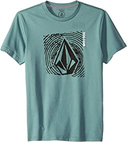 Stonar Waves Short Sleeve Tee (Big Kids)