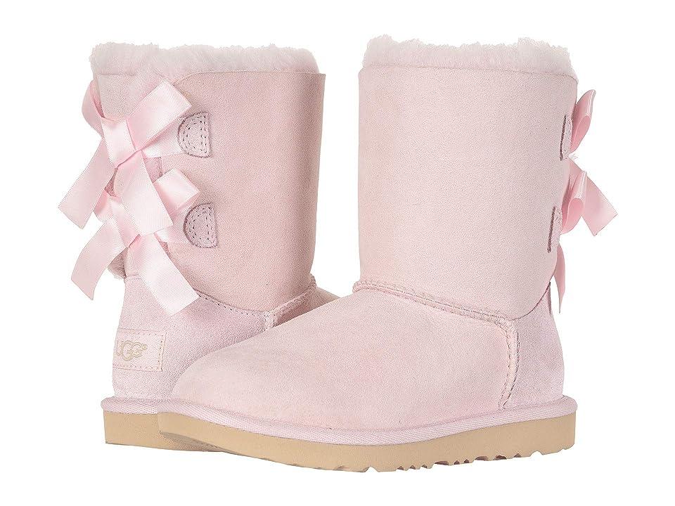 UGG Kids Bailey Bow II (Little Kid/Big Kid) (Seashell Pink) Girls Shoes